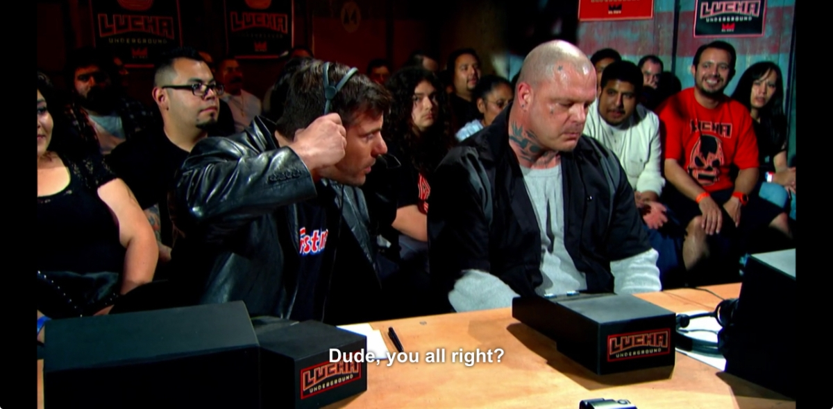 The name for the doing : a moment of narrative silence in Lucha Underground
